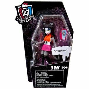 Monster High Ghouls Skullection PURRSEPHONE Mini Figure Series 1, Mega Bloks