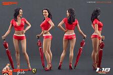 1/18 Ferrari girl red figure VERY RARE !! for1:18 CMC Autoart Ferrari Exoto BBR