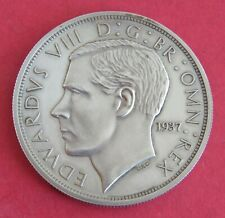 More details for edward viii 1937 silver proof pattern george and dragon crown
