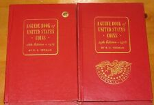 4 Books Collectible A Guidebook of United States Coins by R.S. Yeoman 1960s 70s