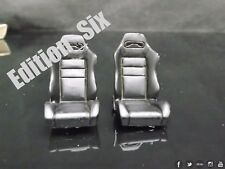 1:24 Scale set of Bucket Seats Tuning Parts Race Modifying Stance