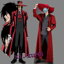 Popular Hellsing Ultimate Alucard Cosplay Costume Any Size High Quality Full Set