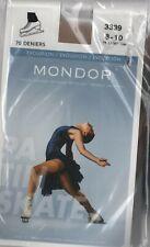Mondor Footless Evolution Tights 3339 Size S Light Tan Figure Ice Skating
