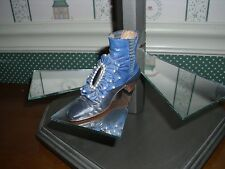 1999 Raine-Just The Right Shoe Figurine-Victorian Ankle Boot-Good Condition