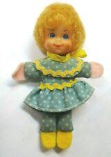 "Vintage 1967 Mattel Mini Mrs Beasley Mini Rag doll-Near 3.5"" tall Adorable"
