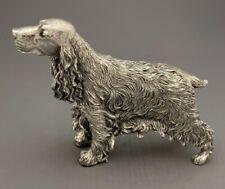 More details for hallmarked sterling silver cocker spaniel model