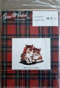 JEAN McINTOSH Needlework Chart #M-110 KITTENS