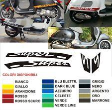 Kit Adesivi Stickers Vespa GTS 300 250 125 Super Parafango + Laterali MULTICOLOR