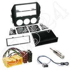 MAZDA MX-5 ab09 Doppel-DIN Autoradio Radioblende+ISO Adapter+Antenne Einbau-Set