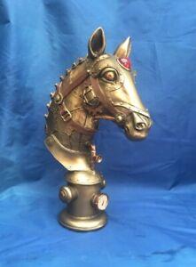 Steampunk Equus Machina Horse Bust Figurine Nemesis Now New Boxed Ornament