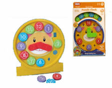 New Funtime Shape Sorting Puzzle Clock Activity Learning Toy 18 Months Plus