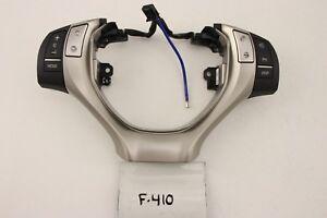 USED OEM STEERING WHEEL CONTROL SWITCHES LEXUS ES300h ES350 13-16 BLUETOOTH