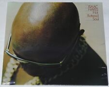 Isaac Hayes Hot Buttered Soul LP Reissue Black Vinyl Edition New