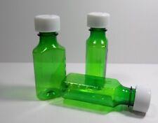 400 ENSEMBLE Prescription Médecine VERT Plastique Bouteilles/Caps 118ml Taille
