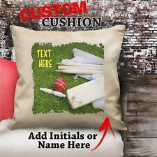 Personalizzato Palla Da Cricket Imbottito Vintage Cuscino Tela Copertura NC160