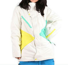 Nomis Pimpstress Jacket Womens Snowboard Ski Waterproof Insulated White L