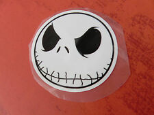 """REDUCED!!! Hipster 3"""" ROUND JACK SKELLINGTON skull APPLIQUE IRON ON PATCH"""