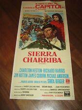 LOCANDINA,1964,Sierra Charriba,Sam Peckinpah,Major Dundee,Charlton Heston,Harris