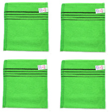 New Italy Towel  4 Pcs Bath Massage Towel Korean Wash Scrubber Body Bath cloth
