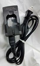 Olympus LI-10C Li-Ion Camera Battery Charger w/ Cord OEM Dark Grey Gray