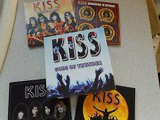 KISS - GODS OF THUNDER - THE LEGENDARY BROADCASTS 1974-'94 - 4 CD BOX SET