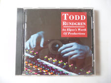 CD- TODD RUNDGREN - AN ELPEE'S WORTH OF PRODUCTIONS