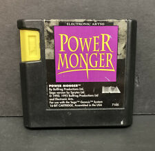 PowerMonger (Sega Genesis, 1993) Cart Only