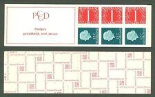 Booklet D20 Netherlands 1969 Mnh Defs