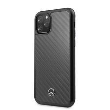 Original Mercedes Benz iPhone 11 Pro Max Real Carbon Hülle Case Cover Schwarz