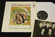 SOUTHERN GOSPEL LP The Harvesters Minute Man 1977 Jesus Christ Solid Rock