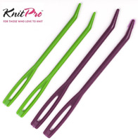 KnitPro Bent Tip Plastic Tapestry Needles Sewing Up Crochet Knitting 4 Set 10806