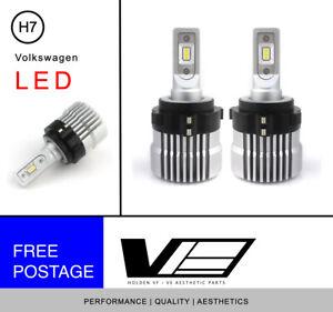 Volkswagen VW H7 Low Beam LED Headlight | Golf | Jetta | Tiguan | Passat | EOS