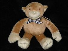 Avec étiquette GAP monkey soft toy Squeakers Brown Consolateur Doudou