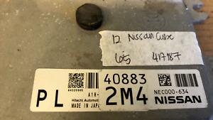 2012 Nissan Cube ecm ecu computer NEC000-634