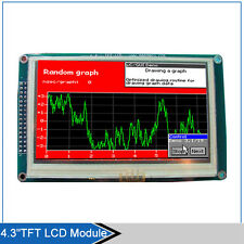 """4.3"""" inch TFT LCD Module 480*272 with Touch Panel+PCB Adapter Build-in SSD1963"""