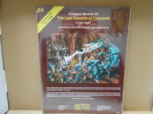 TSR AD&D S4 The Lost Cavers of Tsojcanth NEW & SEALED!