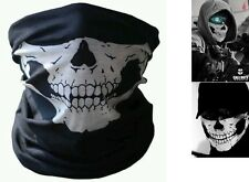 Braga mascara Calavera Call of duty Ghost. Airsoft, paintball, moto, snowboard.