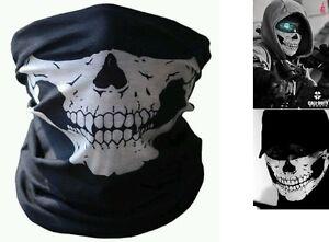 Braga mascara Calavera Call of duty Ghost. Airsoft, paintball, moto, snowboard.