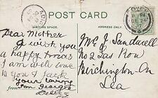 Mrs Sandwell, 2 Gas Row, Birchington 1907 'Mother' JZ3.86