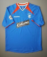 5/5 Rangers soccer jersey 2003 2005 home shirt LARGE football Diadora