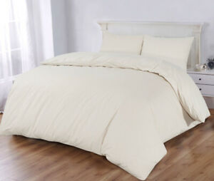 300 Thread Count Egyptian Cotton Duvet Cover Set With Pillowcases