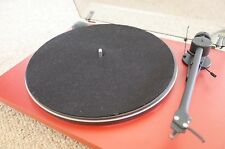 Pro-Ject Essential Turntable - Red - Excellent Condition - Original Packaging