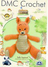 """DMC Crochet Pattern only Woodland Folk  """"Sally Squirrel"""""""