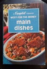 Vintage cookbook Campbell Most For The Money Main Dishes 1975 spiral bound HC
