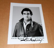 Placido Domingo *Opera Spain Tenor*, original signed Photo in 20x25 cm (8x10)