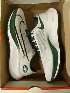 New 2020 NFL New York Jets Nike Unisex Zoom Pegasus 37 Running Training Shoes