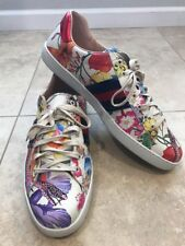 7ebc40c36 Gucci New Ace Floral Dino Sneaker, Size 15 G 16 US, Mystic White Retail