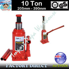 10 Ton Hydraulic Bottle Jack w/Safety Valve Car Van Truck Caravan SUV 4WD Lift