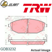 DISC BRAKE PADS SET FOR MITSUBISHI HYUNDAI TOYOTA GALLOPER JK 01 D4BH TRW