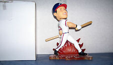 2004 FOREVER CHIPPER JONES PROTOTYPE SWITCH HITTER (2 BOBBLE BATS) BOBBLEHEAD